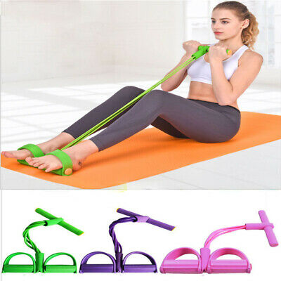 Body Yoga Tummy Action Rower Abdominal Trainer Fitness Toner Exerciser Equipment