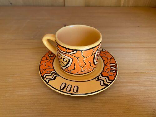 Wächtersbach Keramik Pasiega Espressotasse und Untertasse