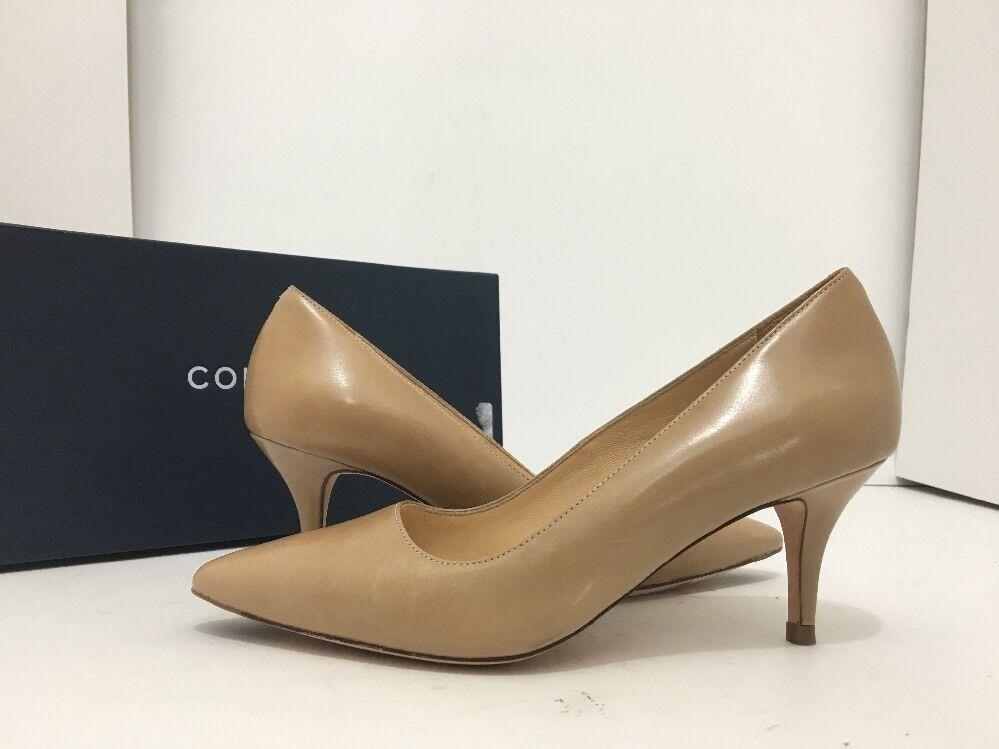 Cole Haan Bradshaw Pump 65 Maple Sugar Leather Women's Heels Pumps Size US 5.5 M
