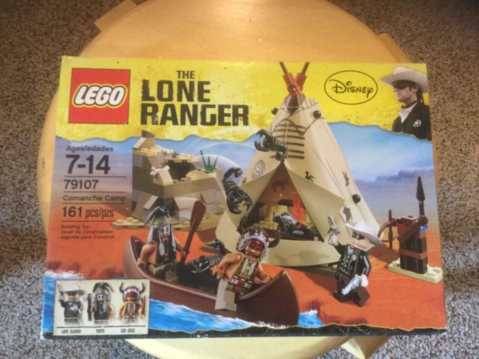 nuovo In scatola  Lego 79107 The Lone Ranger.  Couomoche Camp  negozi al dettaglio