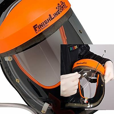 Devilbiss Finishline VIZI Air Fed Tear off Protective Face Visor Mask Cover x 10