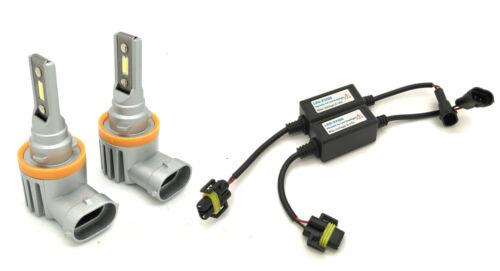 H11 V12 CSP LED Fog Light Bulbs Kit 8000lm perfect beam For Skoda
