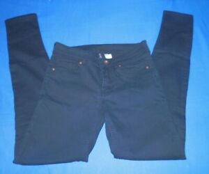 7d7faebe Divided by H&M Women's Black Jeans Size 4 Pants Skinny Stretchy free ...