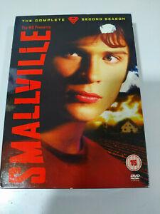 SMALLVILLE-The-Complete-Second-Season-6-x-DVD-English-Francais-Italian-AM