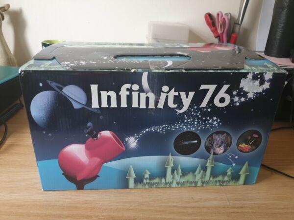 Doux Bleu Infinity 76 Telescope Sky Watcher Fonctionnaire Boxed Manuel 1 X Oculaire Gagner Les éLoges Des Clients