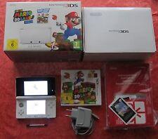 Nintendo 3DS Spiele Konsole Ice White + Super Mario 3D Land Spiel, OVP