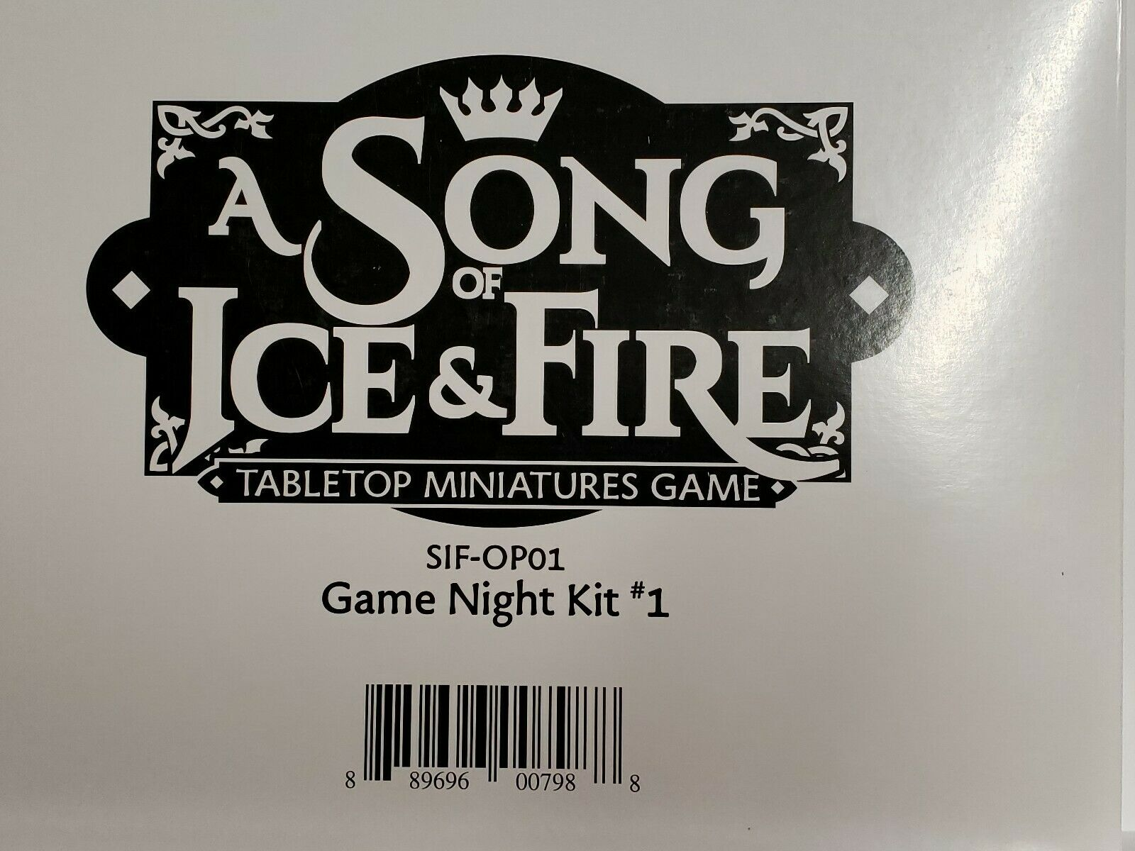 A Song of Fire and Ice Game Night Kit  1 - Full Box -