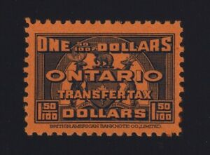 Canada-VD-OST27-1935-1-50-Blue-ONTARIO-LAW-Stamp-Revenue-Mint-VF