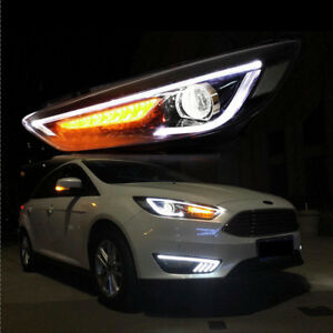 Image Is Loading 1 Pair Led Headlights Projector For 2017