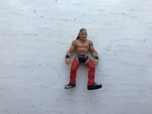 RARE WWE SHAWN MICHAELS HBK JAKKS MICRO AGGRESSION WRESTLING FIGURE DELUXE MINI