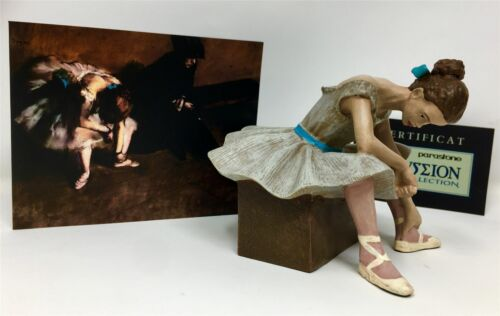 In attesa Ballerina Ballerina FIGURINA DEGAS RIPRODUZIONE Museo Scultura Statua