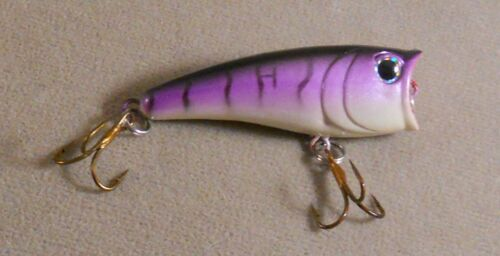 Surface Popper Bass Fishing Lure 2 3//8 in DR Chug-Pop 1//4 oz