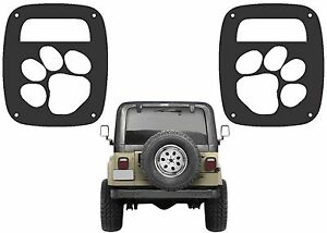 Perfect Image Is Loading Dog Paw Tail Light Covers For 1985 2006