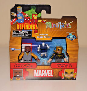 Luke-Cage-amp-Iron-Fist-Minimates-Marvel-The-Defenders-Series-75-2-034-Figure-NEW