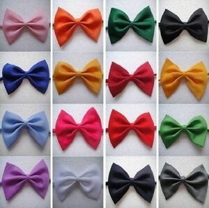 HOT 100pcs Small Adjustable Puppy Pet Cat Dog Collar bow tie Necktie out lot
