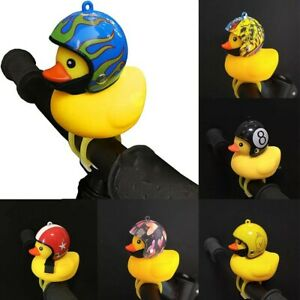 Bicycle Lights Horns Bell Accessories Light Rubber Toy With Helmet US Stock