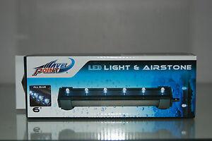 ACQUARIO-BLU-LUCE-LED-amp-AERATORE-Barretta-15-2Cm-adatto-per-tutti-gli-acquari