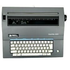 Smith Corona Deville 450 Electric Correcting Typewriter With Cover