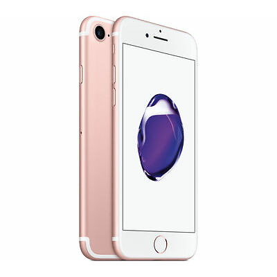 Original Apple iPhone 7 + Plus Rose Gold Rosegold 128GB Vodafone Netlock NEU