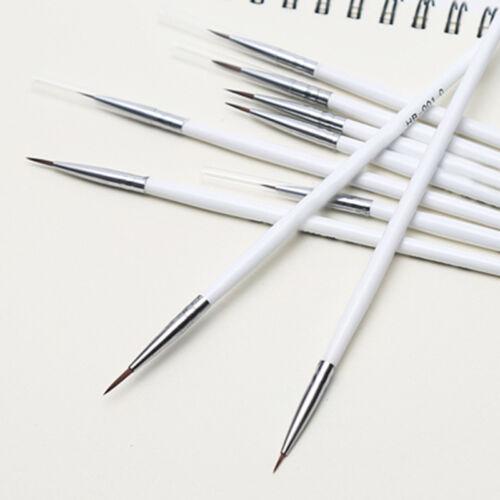 3 Pcs//Set Fine Hand-painted Thin Hook Line Pen Drawing Art Pens Paint Brushes