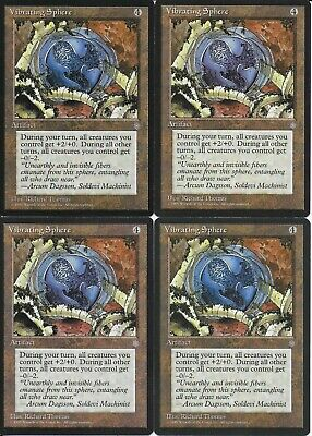 4x Chimeric Sphere Weatherlight MtG Magic Artifact Uncommon 4 x4 Card Cards