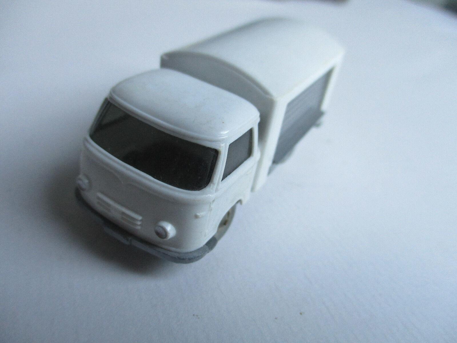Wiking H0 Borgward Verkaufswagen, Milchkanne blue, selten