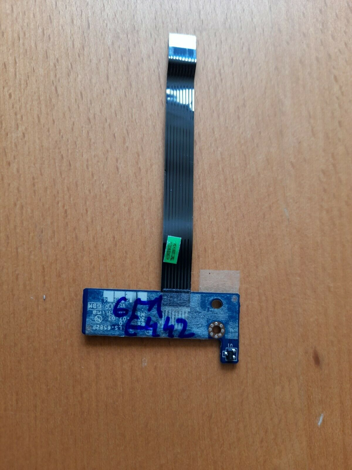 eMachines E442 Power Button Board and Cable