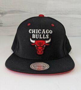 Chicago Bulls Mitchell & Ness NBA Wool Solid Snapback, Hat, Cap