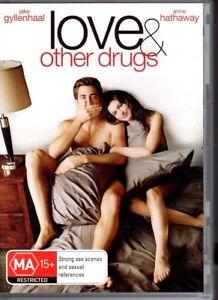 LOVE-amp-OTHER-DRUGS-DVD-R4-2011-Jake-Gyllenhaal-Anne-Hathaway-VG-FREE-POST