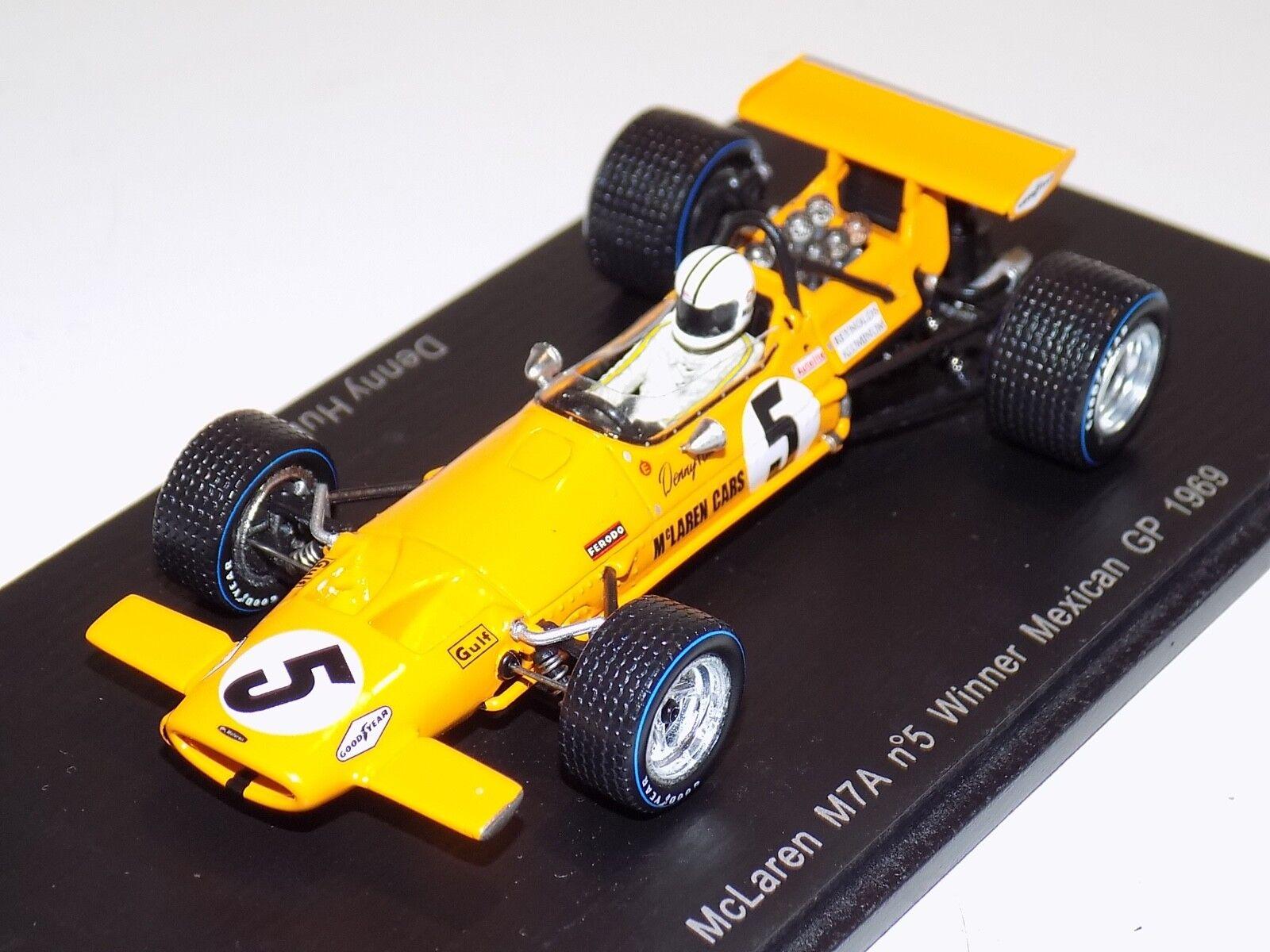 1 43 Spark McLaren M7A car Winner Mexican GP 1969 Denny Hulme  S3120