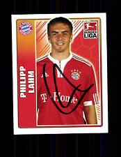 Philipp Lahm Bayern München TOPPS Sammelbild Original Signiert+ A 136213
