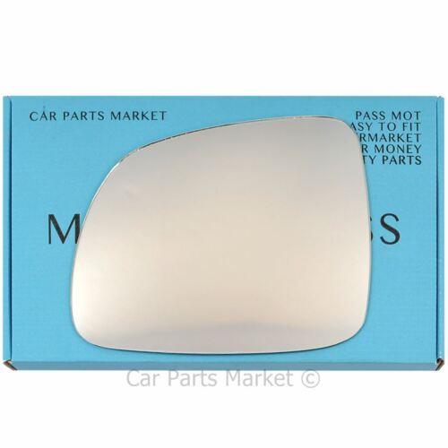 Pour Chevrolet Captiva 06-16 Côté Gauche Plat électrique aile miroir de verre avec plaque