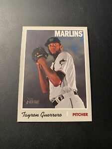 2019 Topps Heritage High Number TAYRON GUERRERO Short Print #719 *MARLINS SP