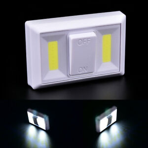 Night-Light-COB-LED-Cordless-Switch-wall-Light-Battery-Operated-Under-CabinetD-X