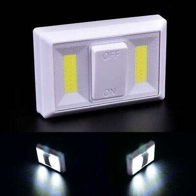 Dimmable COB Lumière DEL Magnétique Interrupteur Rotatif Batterie nuit sans fil