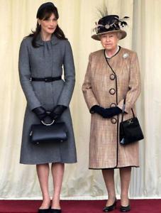 DIOR Carla Bruni UK Trip Embellished Collar Dress (retail )