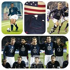 Nike USA Mens Soccer National Team 2004 Away Player Issued LS Jersey Med