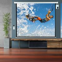 84 Motorize Automatic Projector Screen With Remote Control