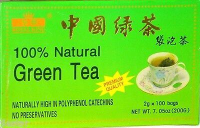 3 boxes  Royal King brand  PREMIUM GREEN TEA . (7.05 oz -100 Tea Bags each box )