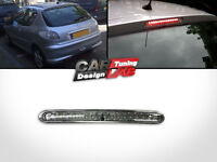 PEUGEOT 206 2D 5D Clear Lens RED LED REAR 3rd THIRD BRAKE LAMP LIGHT Stop Lamp