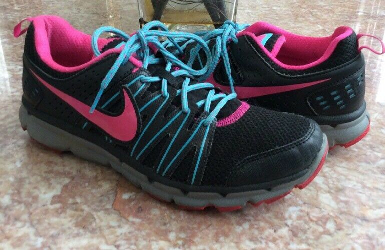 Nike Flex Trail 2 Women's Black Pink Blue Gray Running Shoes Sz 8.5  Great discount
