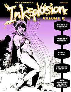 INKSPLOSION-2-Fantasy-amp-Sci-Fi-Ink-Art-by-Mike-Hoffman