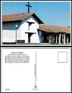 CALIFORNIA-Postcard-Sonoma-Mission-San-Francisco-O8