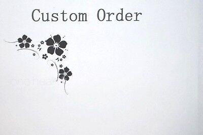 Custom Order - Private Listing for favb0622