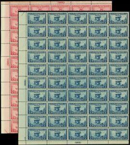 649-50-VF-Mint-NH-Sheets-of-50-Stamps-Brookman-635-00-Stuart-Katz