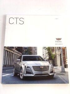 2017 Cadillac CTS 48-page Original Car Sales Brochure Catalog