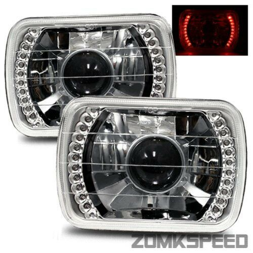 1985-1998 Chevrolet Astro 7X6 H6014//H6052//H6054 Chrome Crystal Square Project...