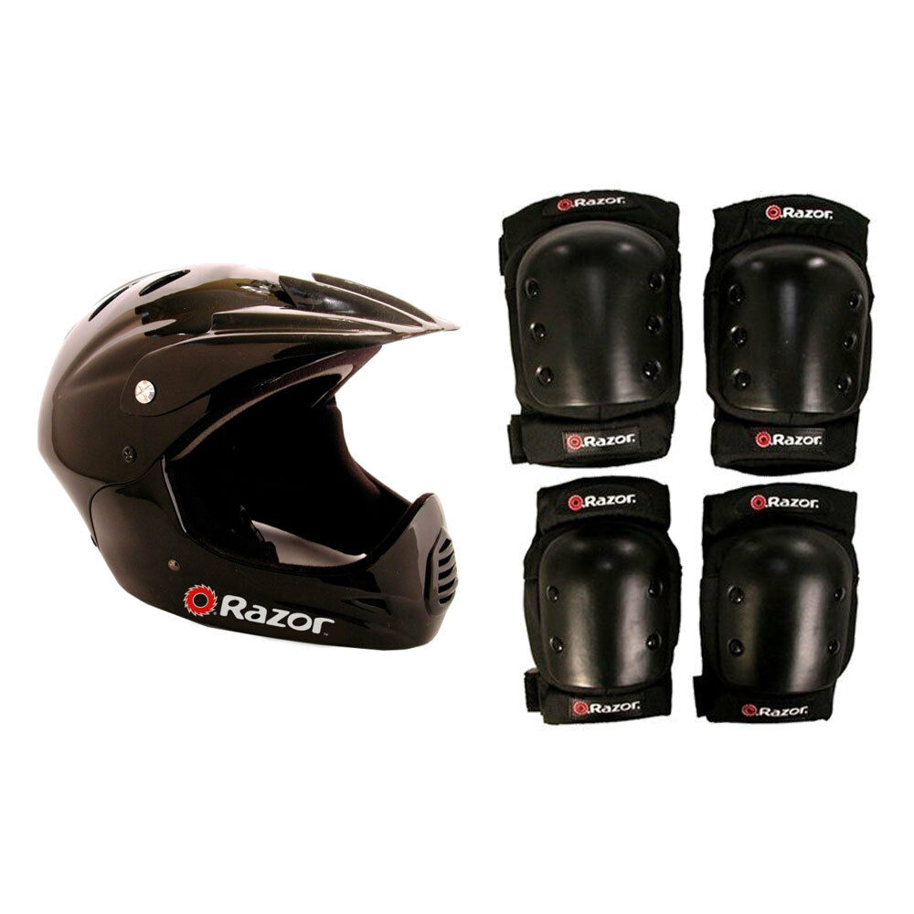 Full  Face Riding Sport Scoot eesyt and Knee Pads  low price