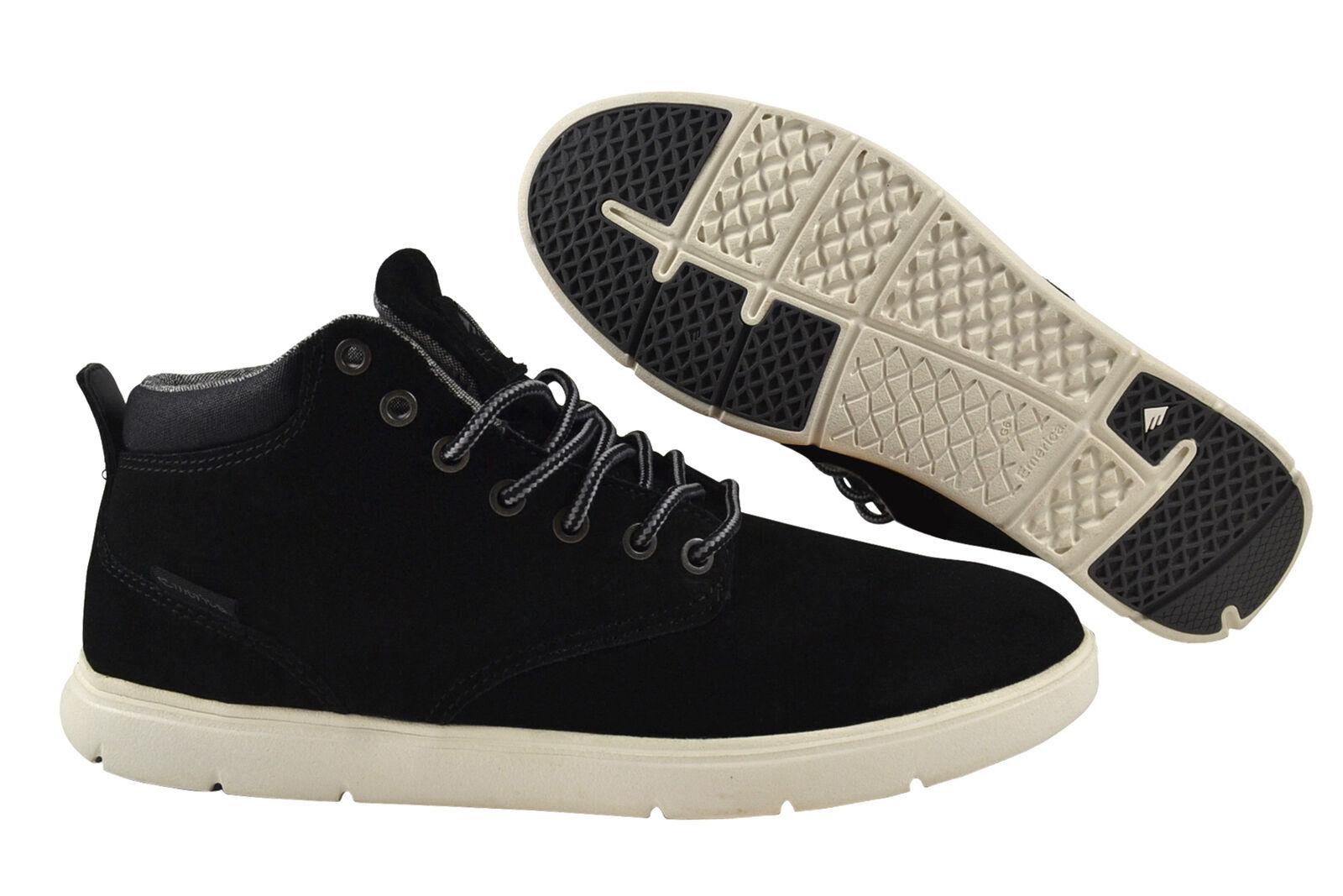Emerica wino Cruiser EUROMAP negro blancoo zapatilla de deporte zapatos negro