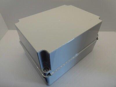 Gabinete De Tapa GEWISS GW44215 120x80x120MM profunda de Plástico Impermeable Caja de empalme